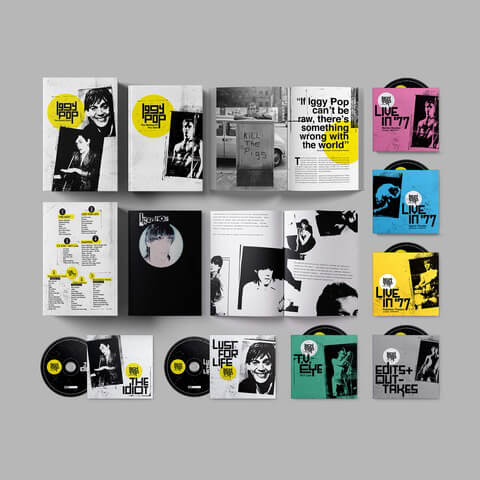 √Iggy Pop - The Bowie Years (Ltd. 7 CD Boxset) von Iggy Pop - Box set jetzt im Caroline Shop