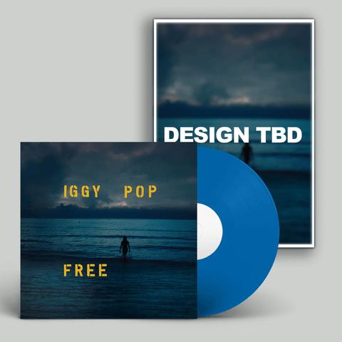 √Free (Ltd. SIGNED Poster Bundle) von Iggy Pop - LP Bundle jetzt im Caroline Shop