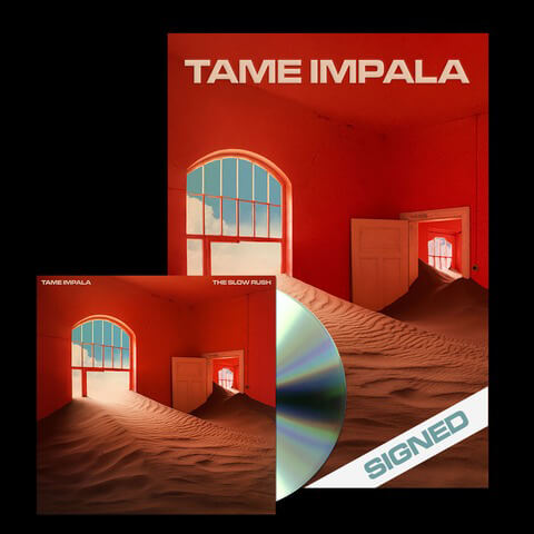 √The Slow Rush (Ltd. CD + signed Poster Bundle) von Tame Impala - CD Bundle jetzt im Caroline Shop