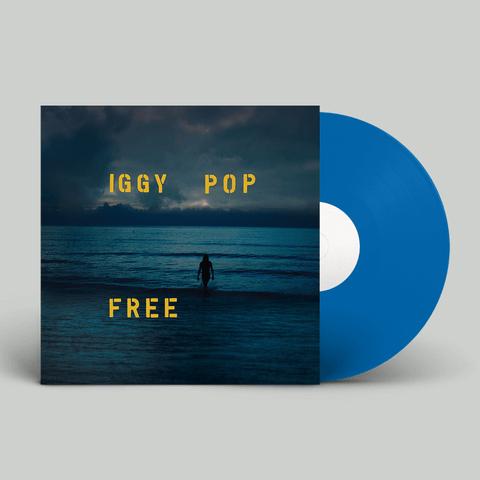 Free (Ltd. Ocean Blue Deluxe Vinyl) von Iggy Pop - LP jetzt im Caroline Shop